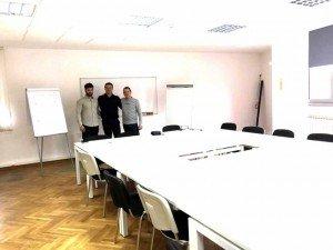 Sala riunioni insieme italia serbia belgrado serbia