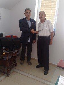 il Direttore IAL FVG in visita nei nostri uffici