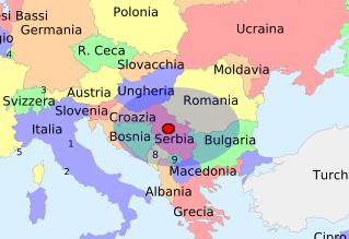 investire in serbia europa est area di influenza