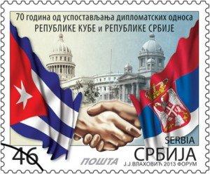 amicizia serbia cuba posta
