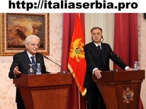 mattarella in montenegro