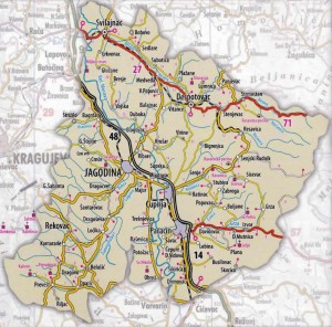 Pomoravlje-jagodina-paracin-Cuprija-Svilajinac-Despotovac