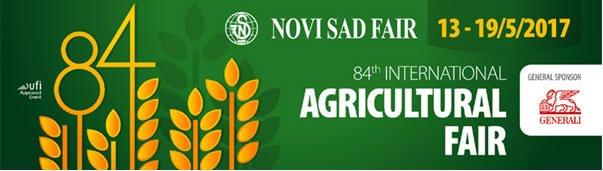 Novi sad Fiera Agricoltura 2017 banner